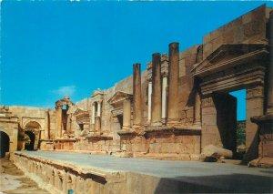 Postcard Jordan Jerash theater ruins