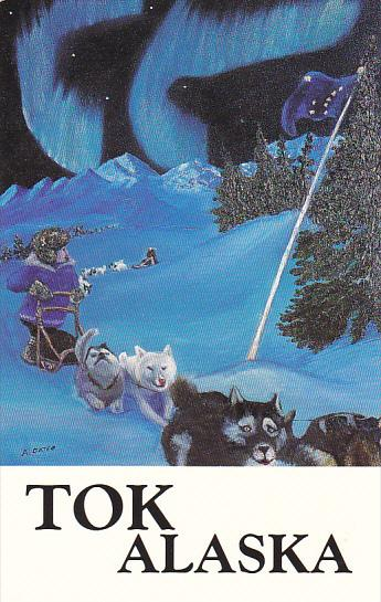 Alaska Dog Mushing In Alaska by Alice Durfee Oates
