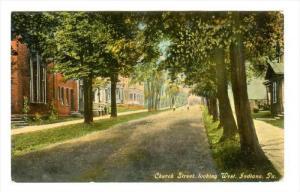 Church Street, Looking West, Indiana, Pennsylvania, 1900-1910s