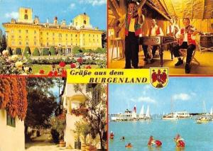 Gruesse aus dem Burgenland, Palast, Palace Musicians Street, Lake Harbour Boats