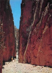 Australia Standley Chasm, named after Miss Ida Standley