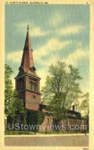 St. Anne's Episcopal Church in Annapolis, Maryland