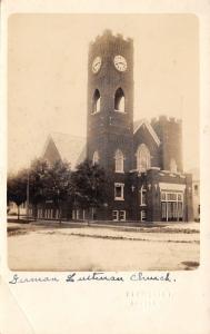 Cresco Iowa~German Lutheran Church~1950s Blomquist, Photographer RPPC