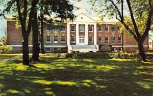 Ashland Ohio~Ashland College Founders Hall~1965 Postcard