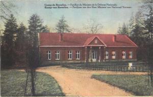 Camp de Beverloo Pavillon du Ministere de la Defense Nationale