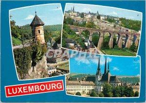 Postcard Modern Luxembourg Spanish Turret