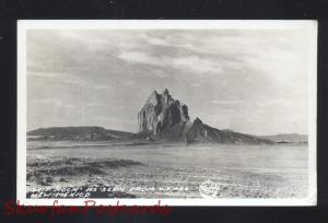 RPPC SHIP ROCK ROUTE 66 SHIPROCK NEW MEXICO VINTAGE REAL PHOTO POSTCARD NM