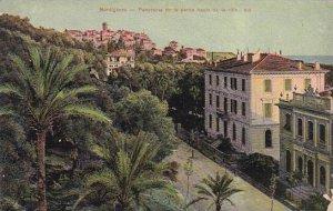Italy Bordighera Panorama de la partie haute de la ville 1922