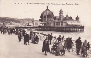 France Nice La Jetee-Promenade et la Promenade des Anglais 1929