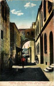 CPA Jerusalem Ecce Homo Arch ISRAEL JERUSALEM (752340)