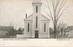 Gerorge Street Baptist Church - Fredericton NB, New Brunswick, Canada