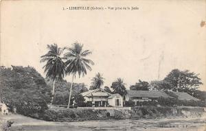 Gabon Libreville, Vue prise de la Jetee 1907