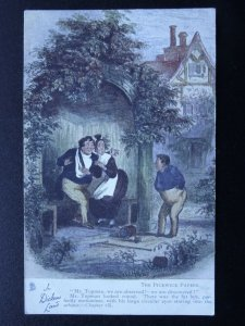 Dickens Land THE PICKWICK PAPERS Chapter viii c1905 Postcard Raphael Tuck 6012