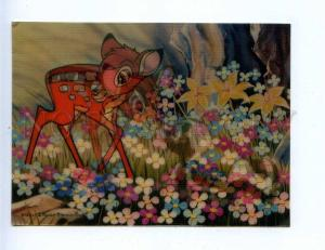 201856 Walt Disney Bambi skunk vintage 3-D postcard