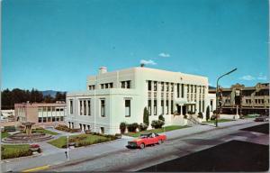 City Hall Prince Rupert BC British Columbia Unused Vintage Postcard D39