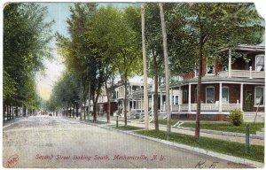 Mechanicville, N.Y., Second Street Looking South