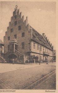 Schlettstadt now Selestat , France, 1900-1910's ; Barbarasaal