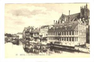 Le Pont de la Prefecture, Metz, France, 00-10s