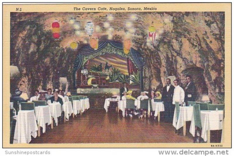 Mexico The Cavern Cafe Nogales Sonora Curteich