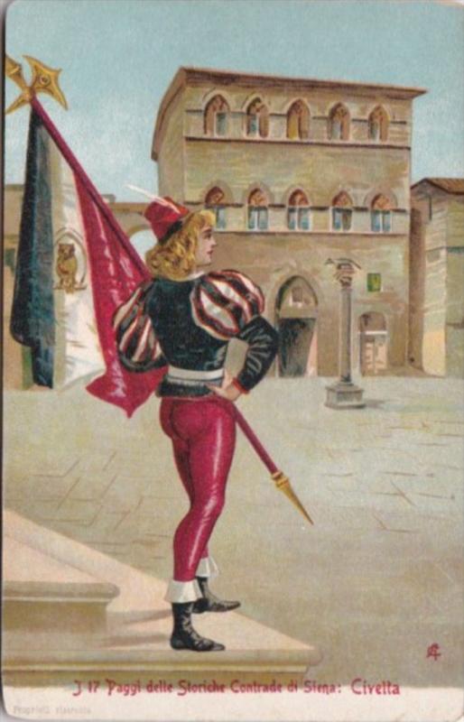 Italy Paggi delle Storiche Contrade di Siena Civella