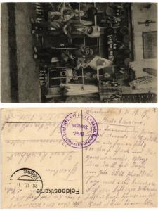 CPA folklore Old man and boy. Feldpostkarte. BULGARIA (406892)