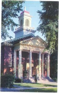 First Methodist Church Oberlin Ohio OH 1985 Chrome