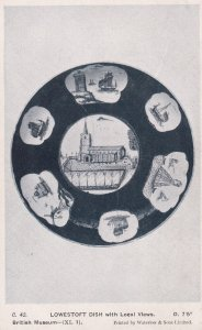 LOWESTOFT dish with local views, England, 00-10s