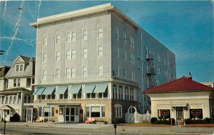 Biscayne Hotel Ocean City New Jersey pm 1974 Postcard