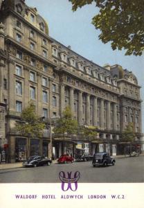London Postcard, Waldorf Hotel, Aldwych, London W.C 2 S81