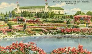PA - Hershey. Hotel Hershey and Rose Garden