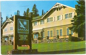 Cascade Lodge at Grand Marais, Minnesota, MN, 1982 Chrome