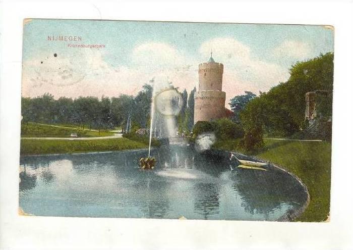 Nijmegen , Netherlands, Kronenburgerpark, PU-1913