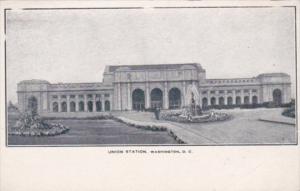 Union Railroad Station Washington D C