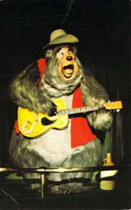 Walt Disney World 0100-10217 Country Bear Jamboree,  Vintage Postcard