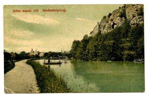 Sweden - Soderkoping. Gota Canal