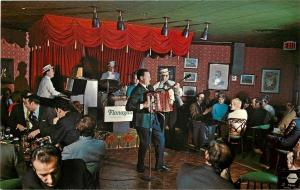 Toronto Ontario~Don Valley Holiday Inn~Flanagan's Bar~Quartet~Accordian~1950s