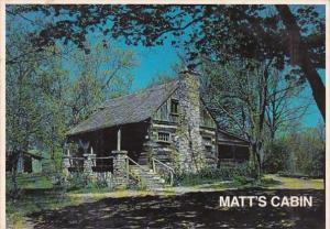 Missouri Shepherd Of The Hills Farm Old Matt's Cabin West Of Branson