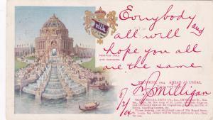 ST. LOUIS, Missouri, PU-1904 ; ADV: Regal Shoe Co., Festival Hall & Cascades