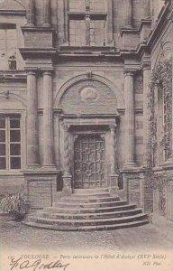 France Toulouse Porte interieure de l'Hotel d'Assezat