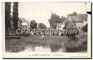 Old Postcard Paray Monial The Bourbince