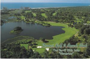 Post Card United States South Carolina Myrtle Beach The Dunes Golf & Beach Club
