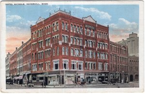 Haverhill, Mass, Hotel Nichols