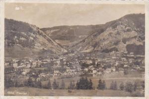 Switzerland Neuchatel Fleurier Panorama 1935