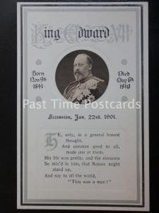c1910 - H.M.King Edward Vll. Born Nov 9th 1841, Died May 6th 1910