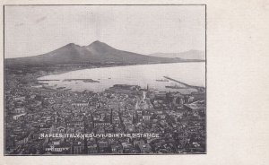 NAPOLI, Campania, Italy, 1930-1950s; Vesuvius In The Distance
