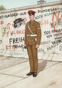 Military Postcard - Corporal, Royal Military Police, Berlin, 1989 - RR8638