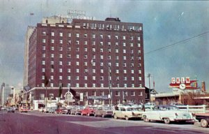 Windsor ONT Canada - HOTEL PRINCE EDWARD, on Ouellette Avenue, 1960s