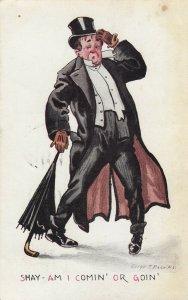 Drunk Man 1911