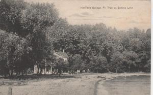Henrietta Cottage and Fir Tree on Seneca Lake near Geneva NY, New York - DB