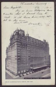 Waldorf Astoria Hotel,New York,NY Postcard